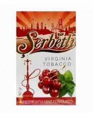 Табак Serbetli Вишня С Мятой Cherry With Mint оптом 50 г
