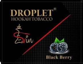 "Табак DROPLET  ""BLACK BERRY""  (Eжевика) 50 g"