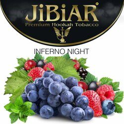"Табак JiBiAR ""Inferno Night"" (Адская Ночь)  100 g"