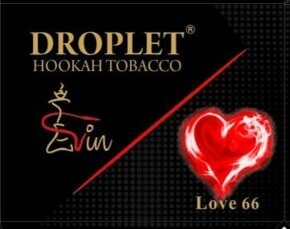 "Табак DROPLET  ""LOVE 66""  (Любовь 66) 50 g"