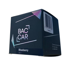 Baccar Bluberry 50g
